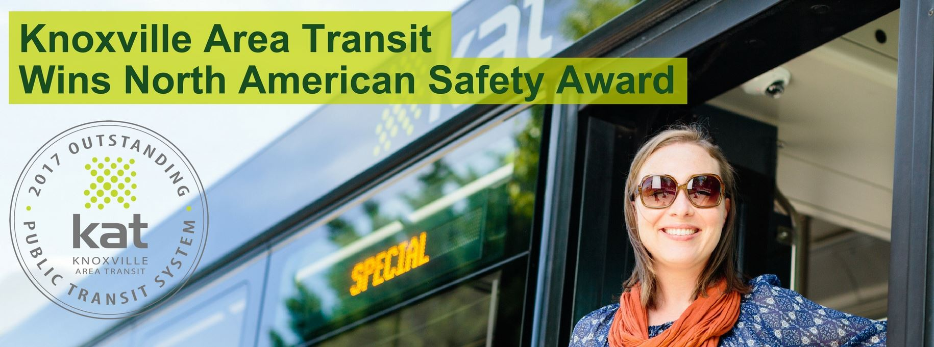 Knoxville Area Transit wins North American Safety Award