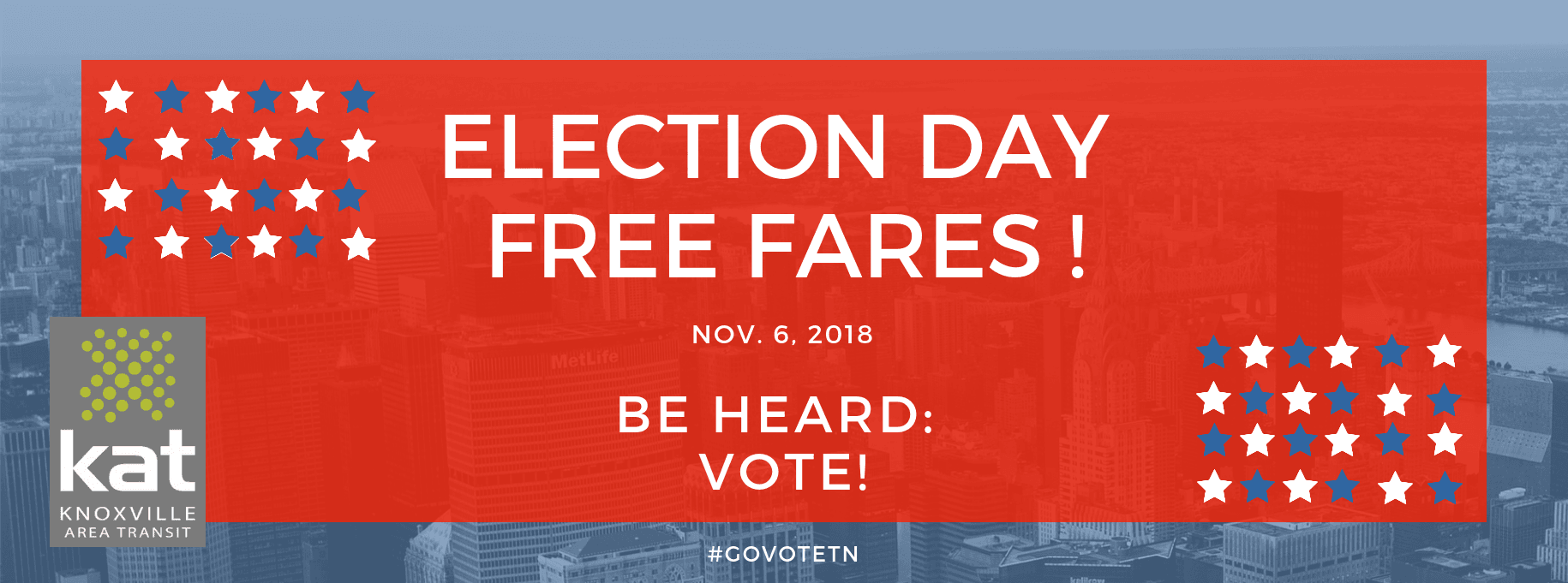 Fare-Free on Election Day