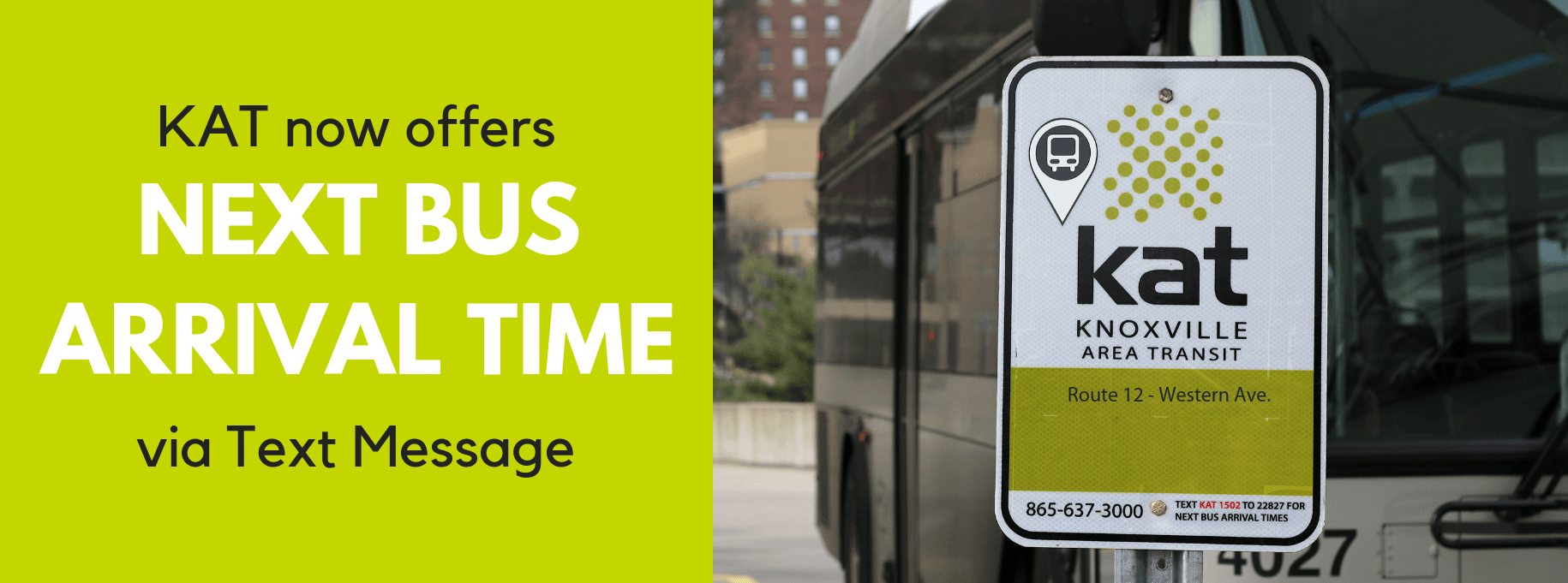 Text for Real-Time Bus Arrival